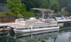 1996 sweetwater pontoon for sale - 1