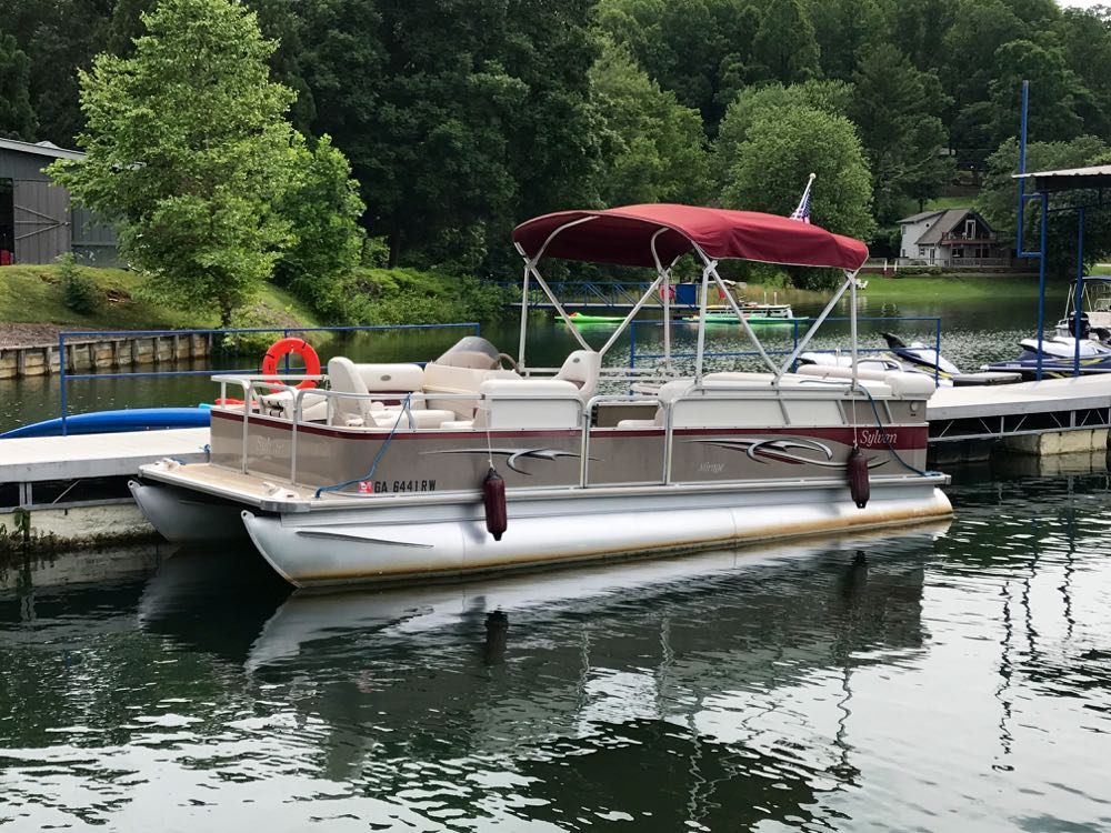 2005 sylvan 822 cruise fish boundary waters marina for Sylvan fishing boats