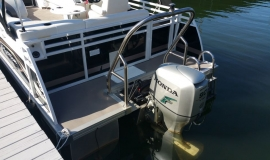 2012 JC NepToon 21 for sale Honda 90 - 11