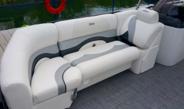 2017 22' Sport Pontoon Rental Boat Suzuki 140 - 6