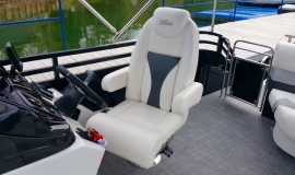 2017 22' Sport Pontoon Rental Boat Suzuki 140 - 9