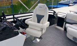 2017 22' Sport Pontoon Rental Boat Suzuki 140 - 10