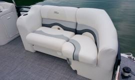 2017 22' Sport Pontoon Rental Boat Suzuki 140 - 5