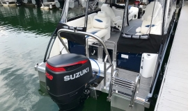 2017 JC TriToon SportToon 24TT Suzuki 250SS for sale - 22
