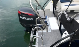 2017 JC TriToon SportToon 24TT Suzuki 250SS for sale - 23