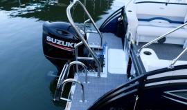 2018 jc tritoon neptoon sport 23tt blue black suzuki 200 for sale - 33