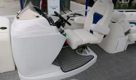 2018 JC tritoon neptoon sport 23tt white suzuki 200. - 14