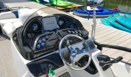 2018 JC SportToon 24TT TriToon blue black Suzuki 250SS for sale - 13