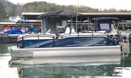 2019 JC NepToon Sport 23tt TriToon for sale blue black - 2
