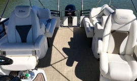2019 JC Tritoon neptoon sport 23tt black for sale - 25