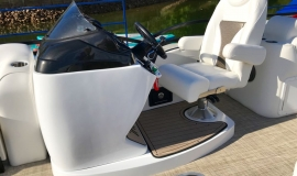 2019 JC NepToon Sport 23tt suzuki 200 for sale High tide hull - 17