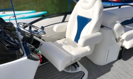 2019 JC SportToon 26tt suzuki 350 for sale High tide hull - 18