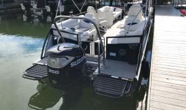 2019 JC SportToon 26tt suzuki 350 for sale High tide hull - 27