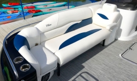 2019 JC SportToon 26tt suzuki 350 for sale High tide hull - 8