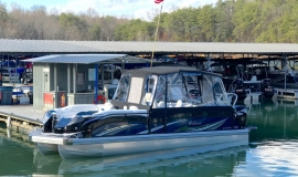 2019 JC Tritoon Sporttoon 26tt suzuki 350 for sale - 3