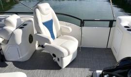 2019 JC SportToon 26tt suzuki 350 for sale High tide hull - 11