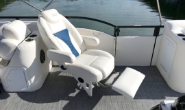 2019 JC SportToon 26tt suzuki 350 for sale High tide hull - 12