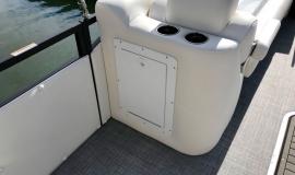 2019 JC SportToon 26tt suzuki 350 for sale High tide hull - 13