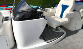 2019 JC SportToon 26tt suzuki 350 for sale High tide hull - 17