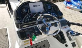2019 JC SportToon 26tt suzuki 350 for sale High tide hull - 20