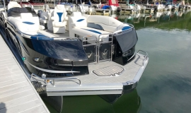 2019 JC SportToon 26tt suzuki 350 for sale High tide hull - 3
