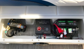 2019 JC SportToon 26tt suzuki 350 for sale High tide hull - 33
