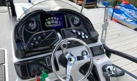 2019 JC SportToon 26tt suzuki 350 for sale High tide hull - 34