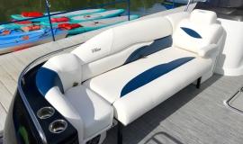 2019 JC SportToon 26tt suzuki 350 for sale High tide hull - 7
