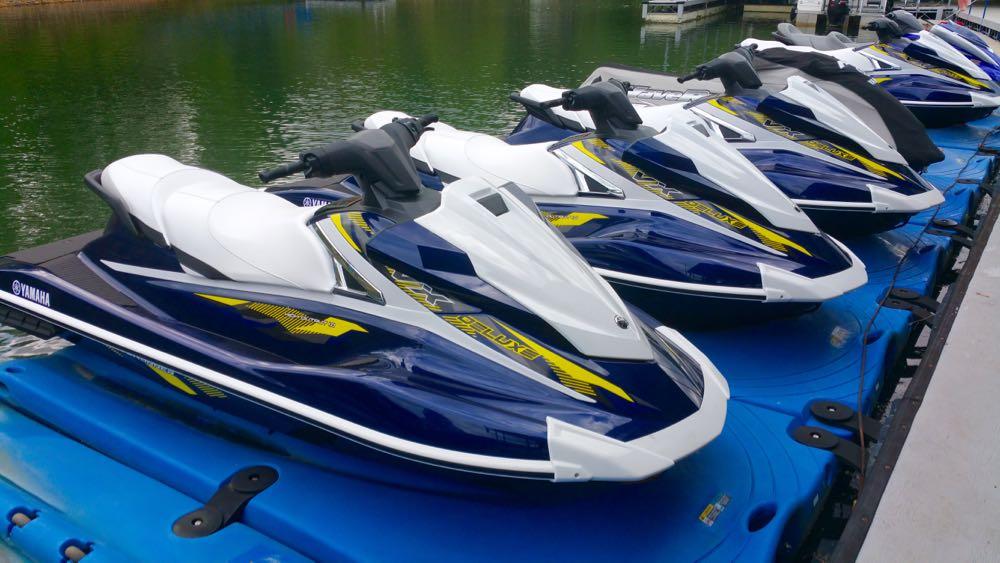 North georgia jet ski rental boundary waters marina for Yamaha waverunner vx