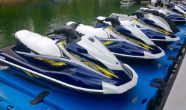 2017 Yamaha vx deluxe waverunner jet ski rentals - 1