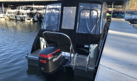 2017 JC NepToon Sport 25tt TriToon for sale black - 3