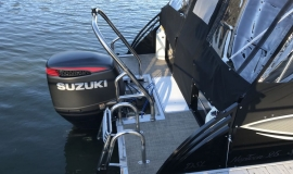 2017 JC NepToon Sport 25tt TriToon for sale black - 4