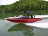 Malibu Wakesetter cruising Lake Chatuge