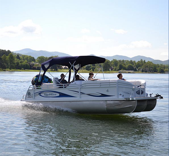 boat rental in Hiawassee