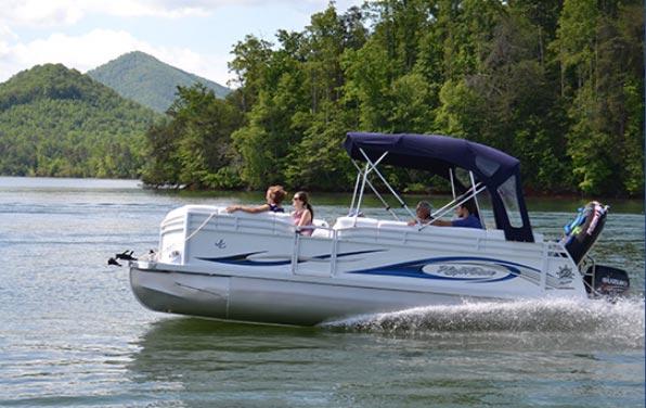 Pontoon Boat - Rentals Hiawassee