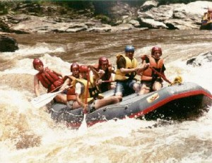 Chattooga rafting - area attractions near Boundary Waters Resort & Marina - North Georgia