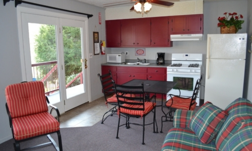 deluxe waterfront suites at Boundary Waters Resort