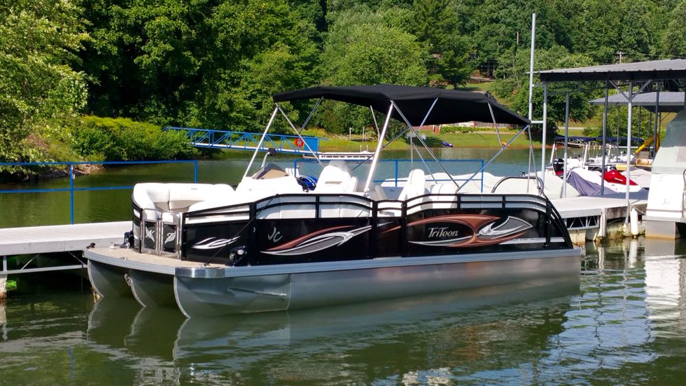 24' Sport Pontoon - 2016 JC TriToon NepToon