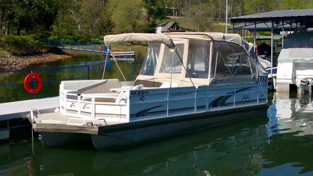 1999 JC TriToon Pontoon boat