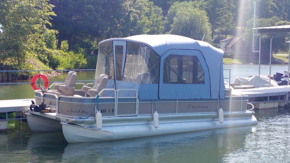 2007 Premier pontoon boat