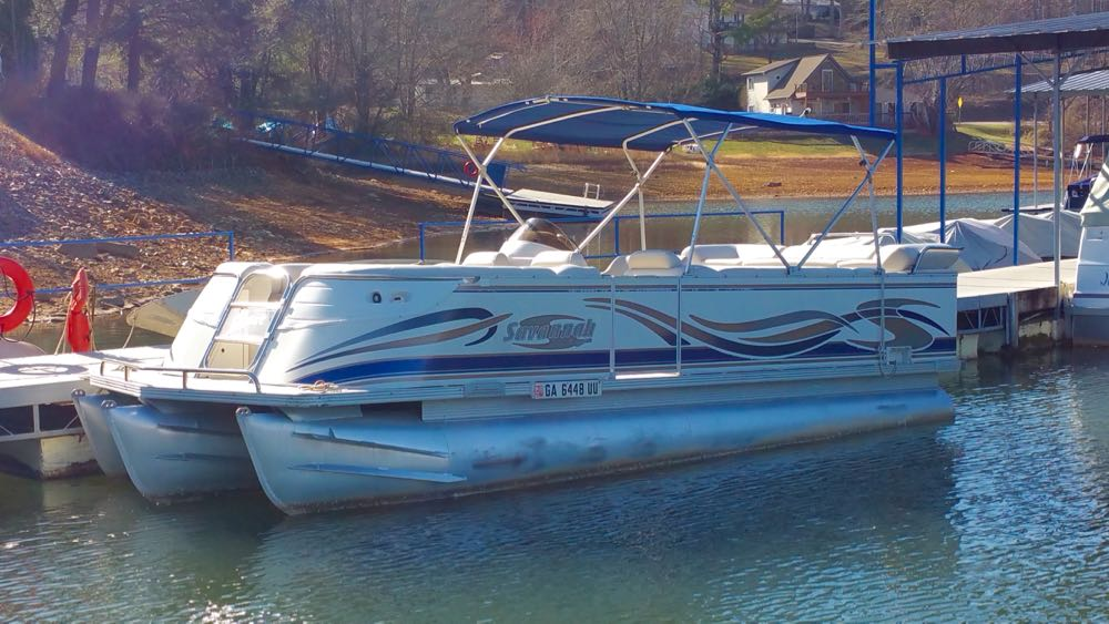 Tritoon For Sale >> 2005 22 Crest Caribbean Tritoon Evinrude 225hp Boundary Waters Marina