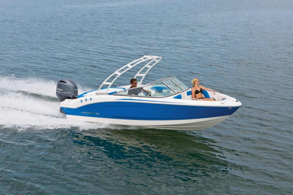 new premium ski boat rentals on Lake Chatuge at Boundary Waters marina and resort