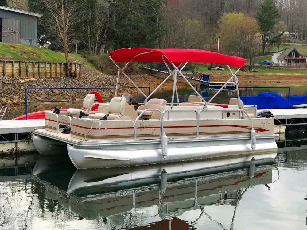 2008 cyprus cay 200 angler 200 pontoon for sale