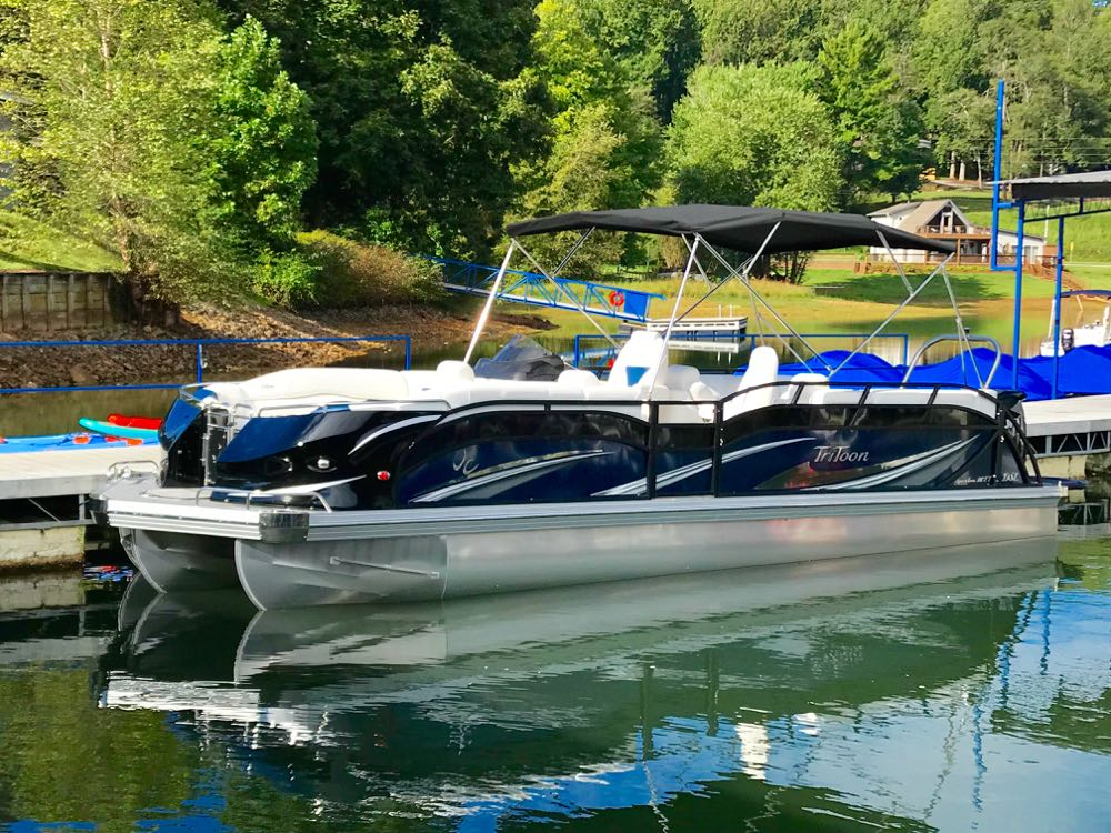 2019 JC SportToon 26tt suzuki 350 for sale High tide hull - 1
