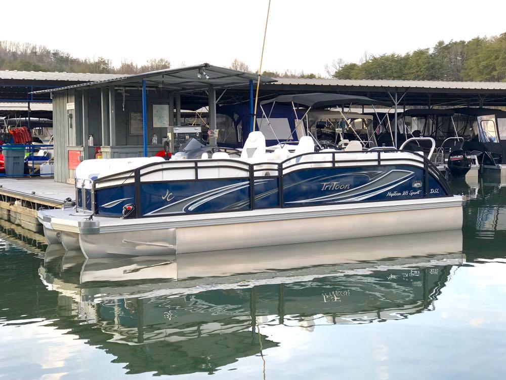 2019 JC NepToon Sport 23tt TriToon for sale blue black - 1