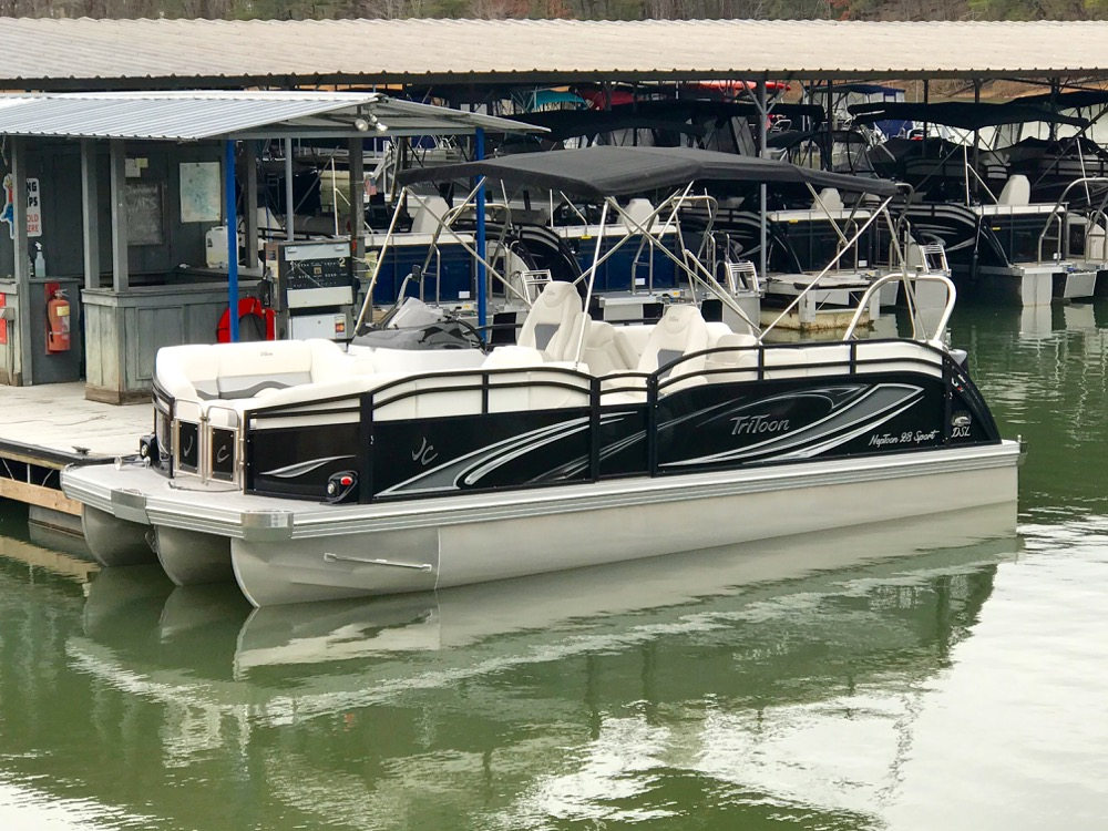 Pontoon boat dealers in Georgia