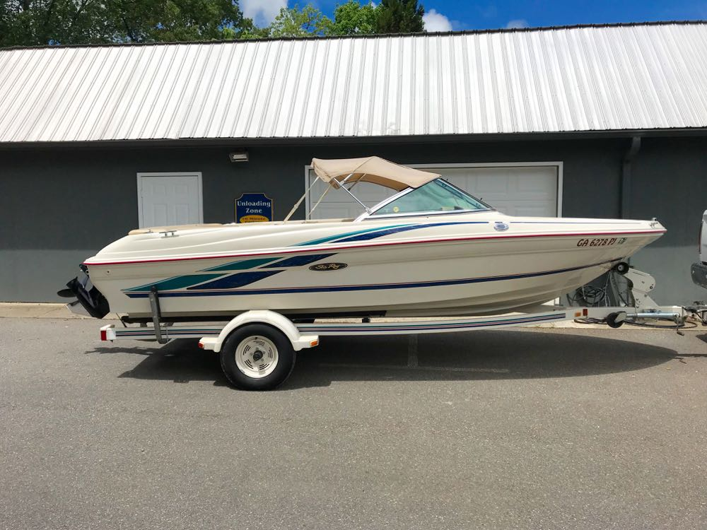 1999 sea ray 180 for sale north georgia lake chatuge hiawassee