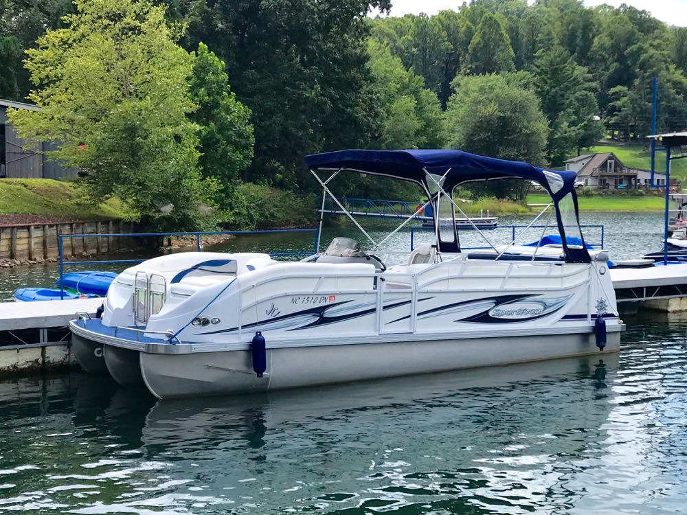 2009 sporttoon tritoon for sale