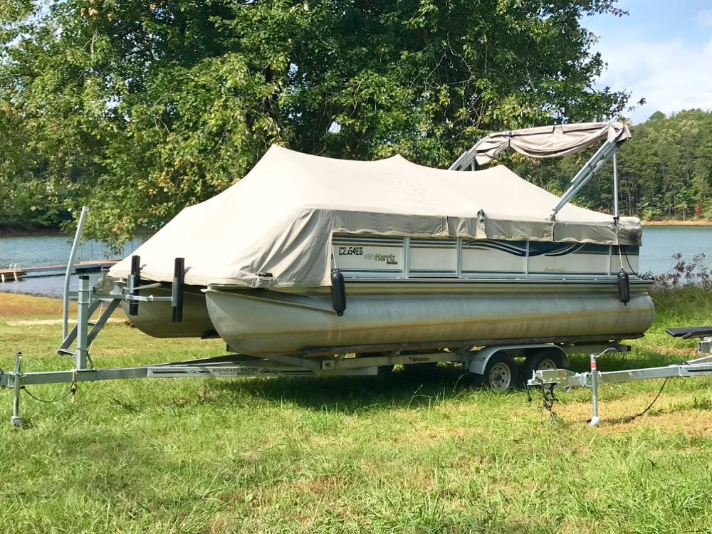Geren harris pontoon boat for sale