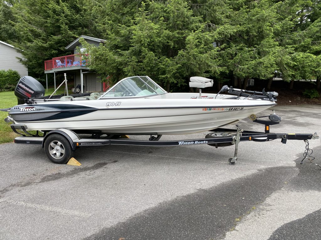 triton 190 fs ski boat for sale